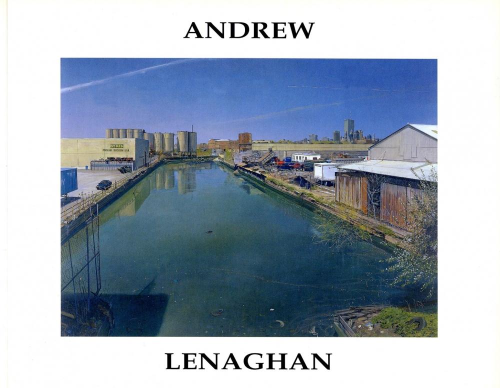 Catalog cover, 'Andrew Lenaghan,' 2001.