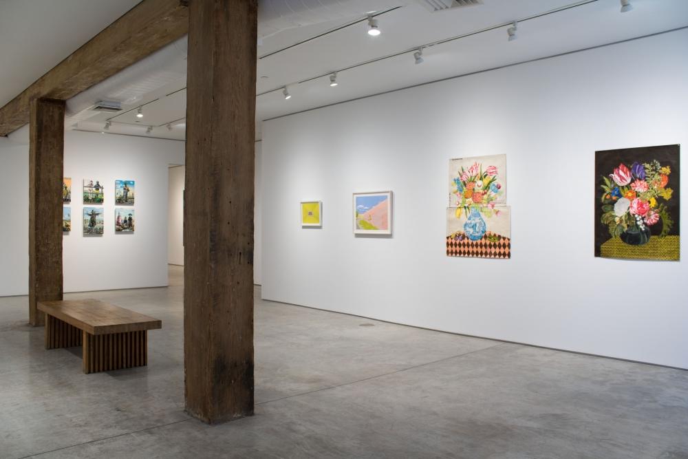 George Adams Gallery installation