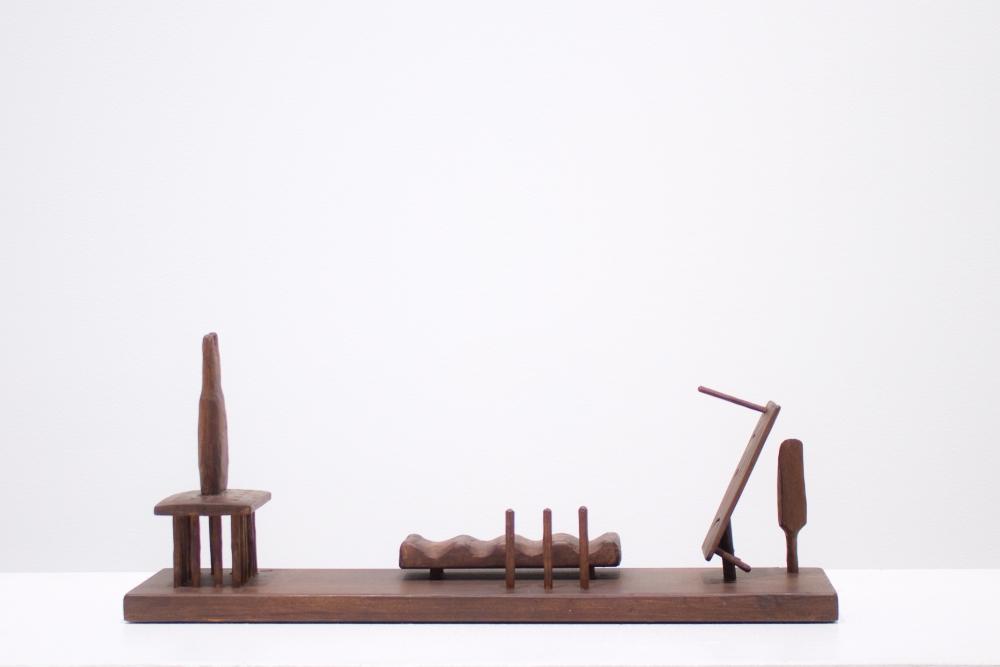 Jeremy Anderson, Untitled, 1953 redwood sculpture