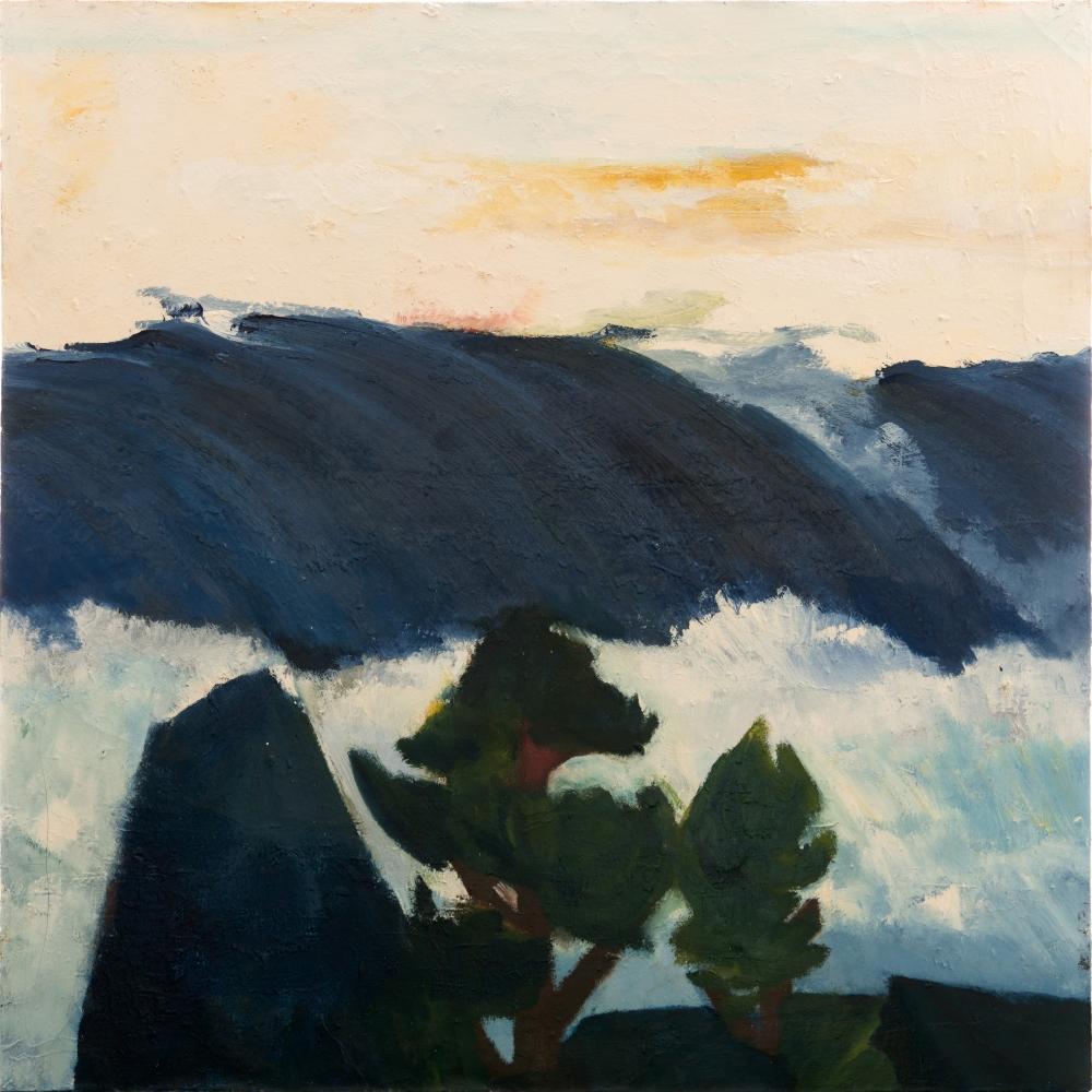 Elmer Bischoff, The Ocean, 1953.