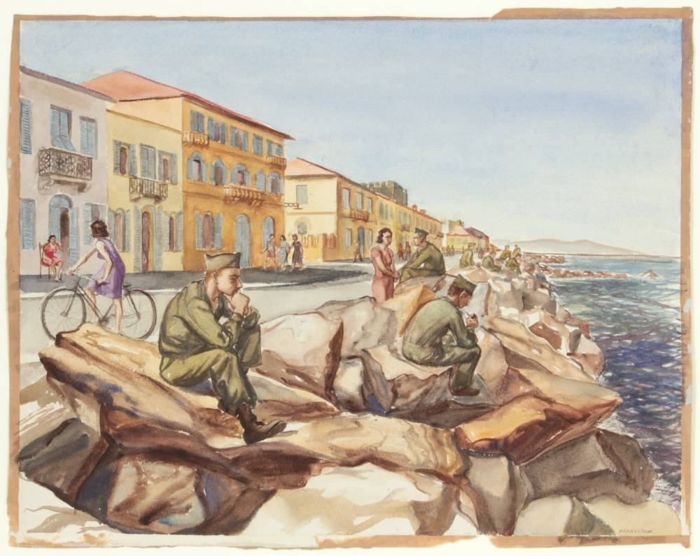 Philip Pearlstein Draws Upon Life as a Young Soldier