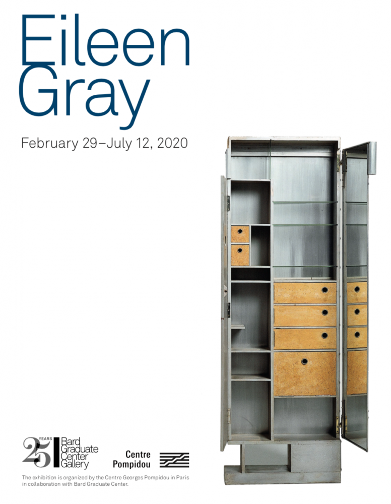 Eileen Gray at the Bard Graduate Center