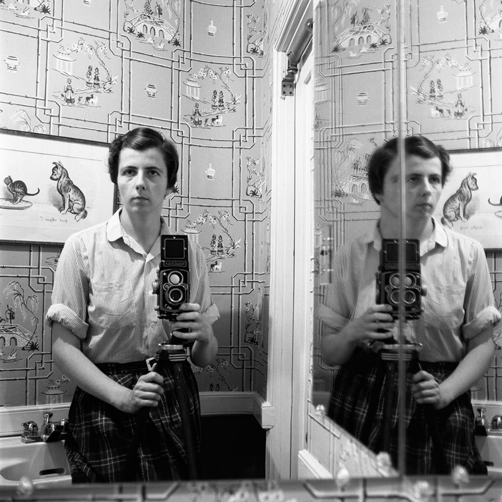 Vivian Maier, Self-Portrait, 1955, Howard Greenberg Gallery, 2019