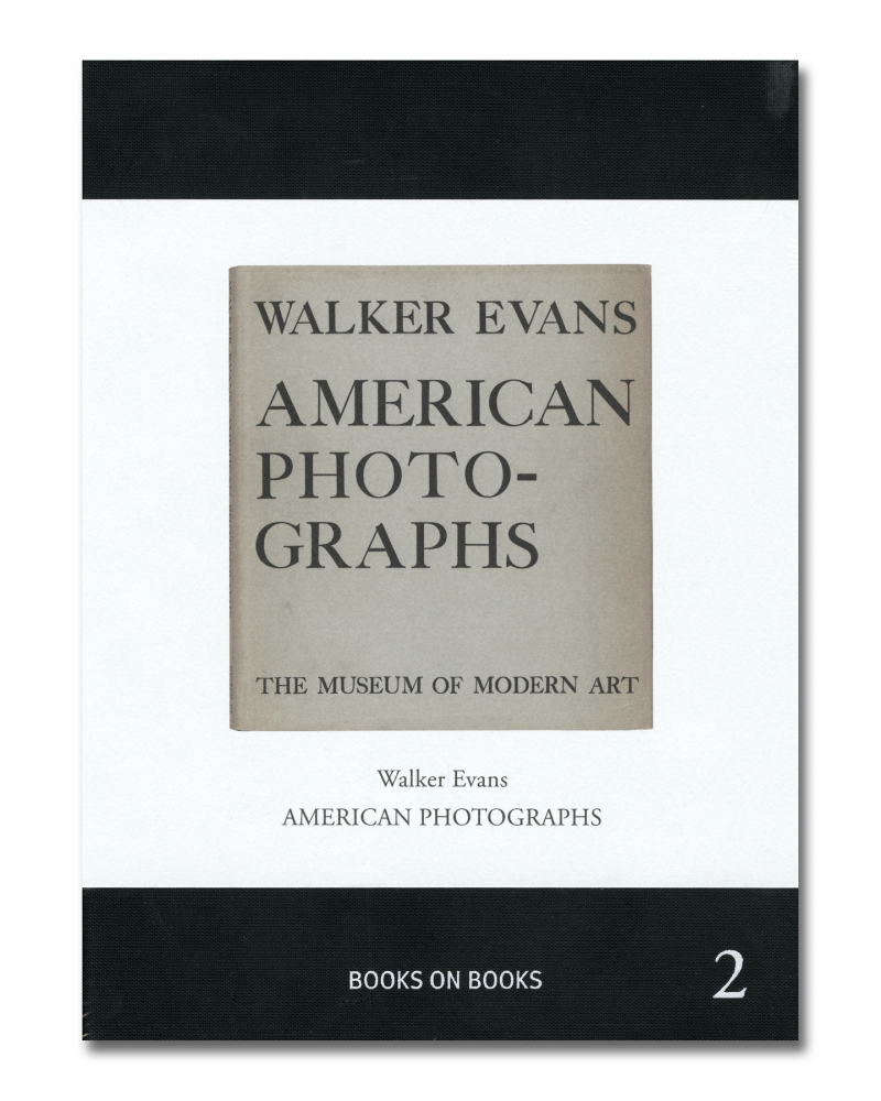Walker Evans - American Photographs - Errata Editions - Howard Greenberg Gallery - 2018