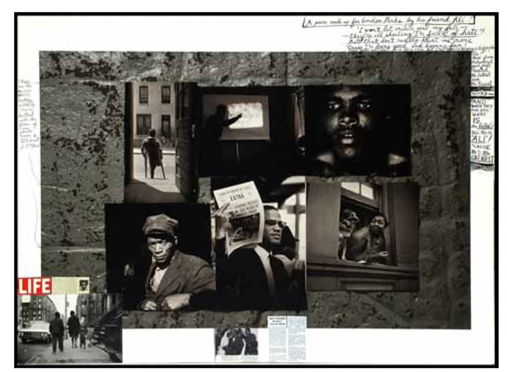 Gordon Parks: Collages by Peter Beard - Exhibition at the Gordon Parks Foundation