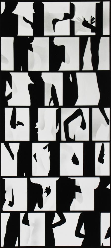 Ray K. Metzker - Nude Composite, 1966 - Howard Greenberg Gallery - 2018