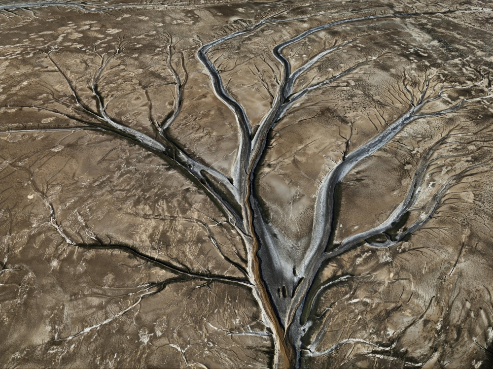 Edward Burtynsky Exhibition Reviewed in the Wall Street Journal
