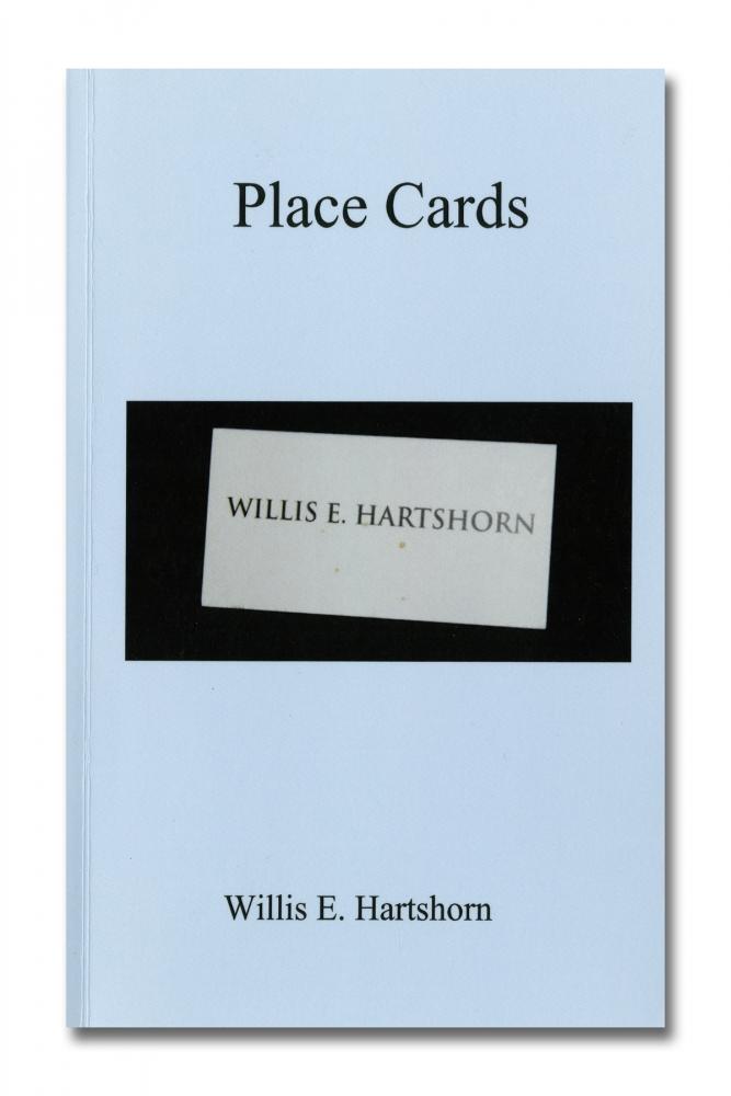 "Willis ""Buzz"" Hartshorn - Place Cards - Self Published - Howard Greenberg Gallery - 2018"