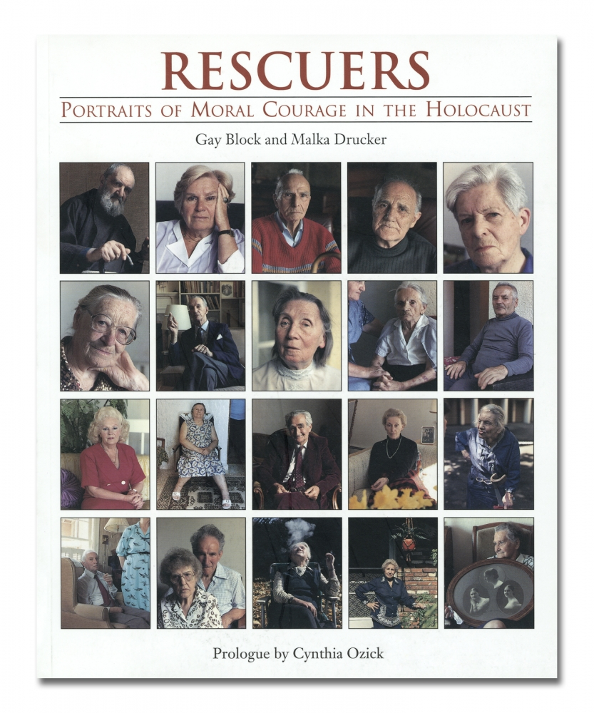 Gay Block - Rescuers:Portraits of Moral Courage in the Holocaust - Holmes & Meier - Howard Greenberg Gallery - 2018