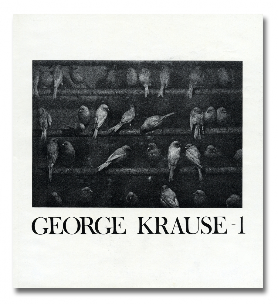 George Krause - 1 - Toll & Armstrong - Howard Greenberg Gallery - 2018