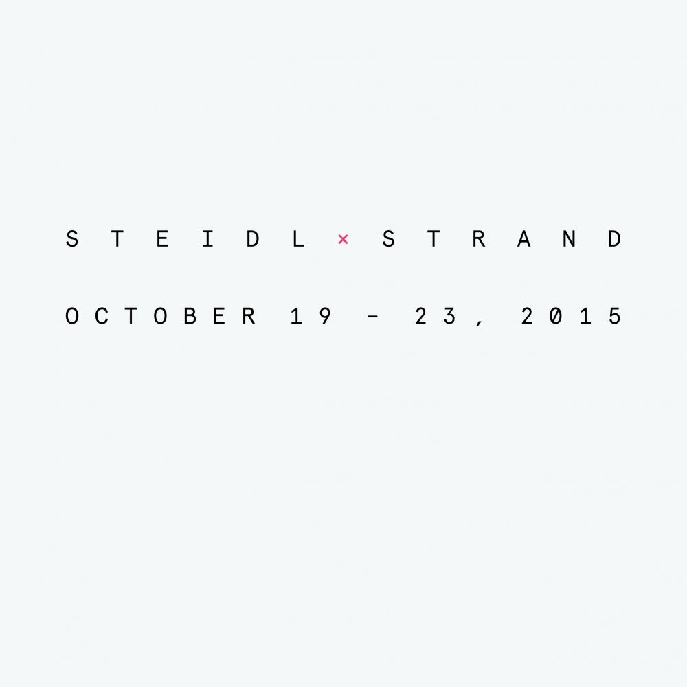 Steidl x Strand