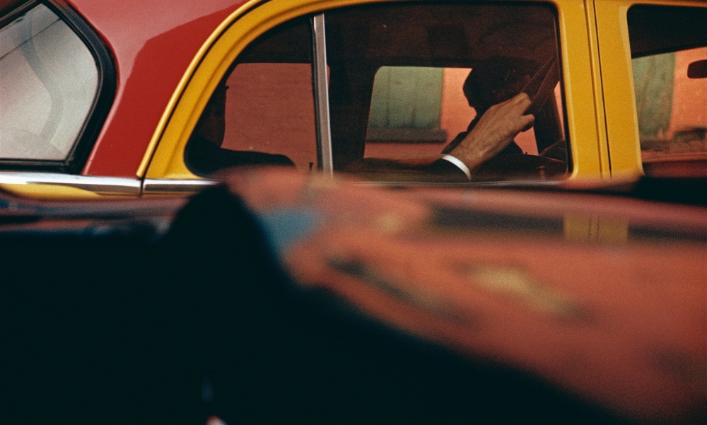 Saul Leiter featured in the Guardian