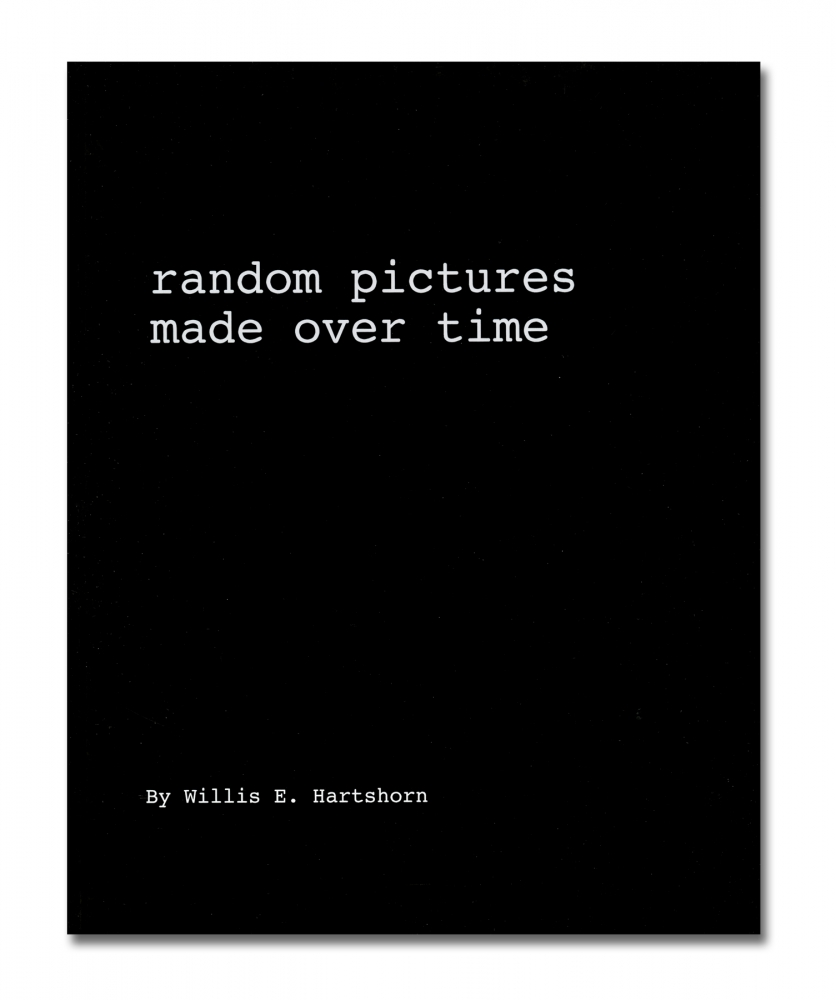 "Willis ""Buzz"" Hartshorn - Random Pictures Made Over Time - Self Published - Howard Greenberg Gallery - 2018"