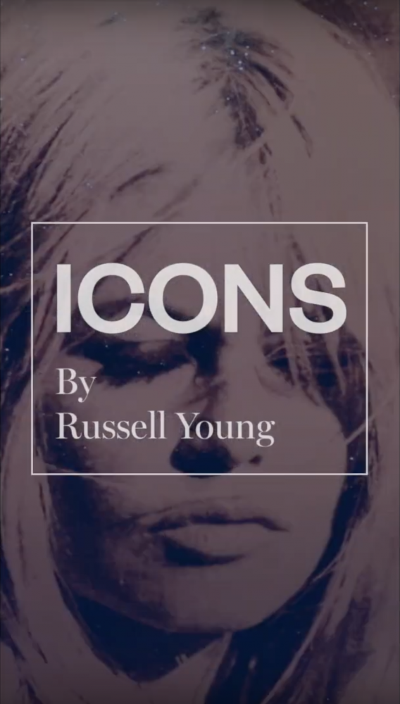 Russell Young at Halcyon Gallery exclusively for Harrods