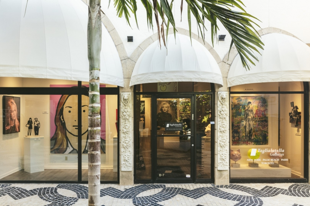 ALTIMA PALM BEACH | Taglialatella Galleries at Via Bice: Featuring Modern, Contemporary and Pop Artists