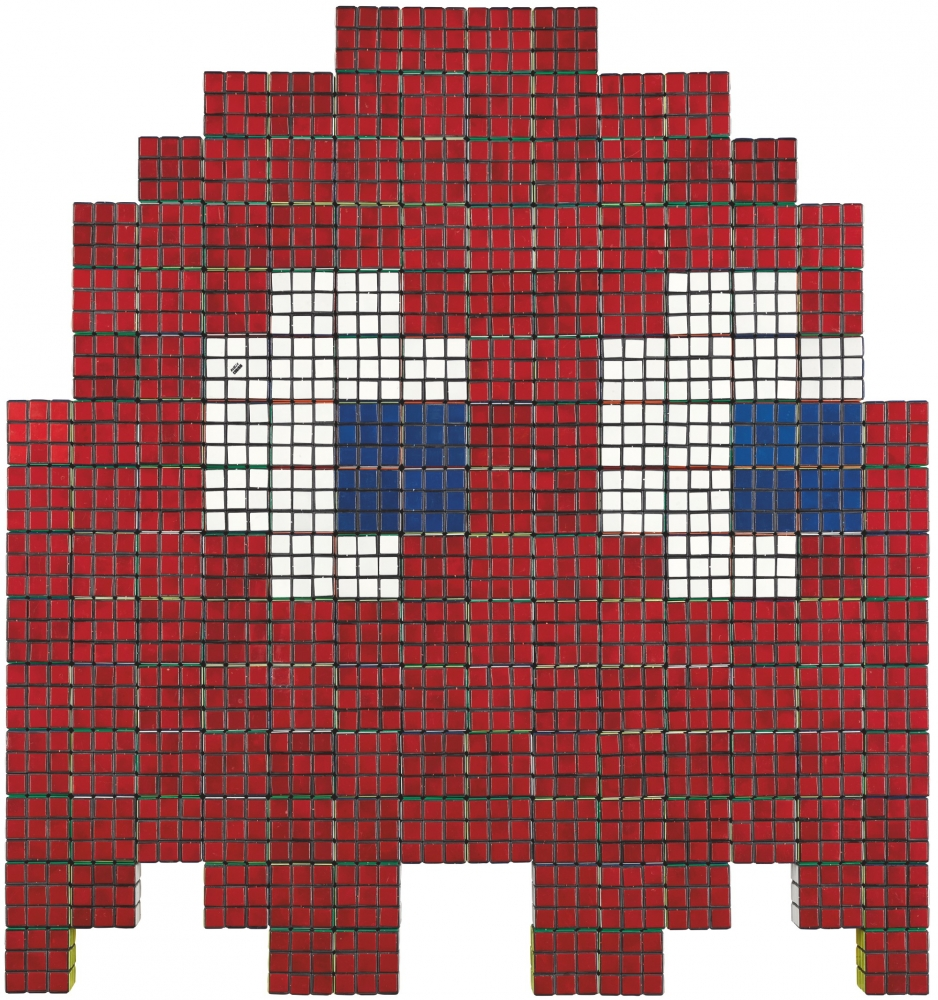 Original Invader Sells At Sotheby's for Double Estimated Price