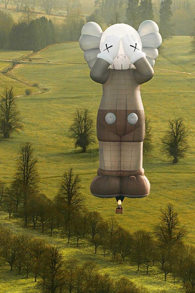 CNN   Gigantic KAWS hot air balloon to take flight over major world cities