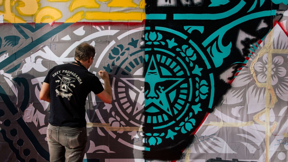 CNN | Shepard Fairey debuts at Middle East