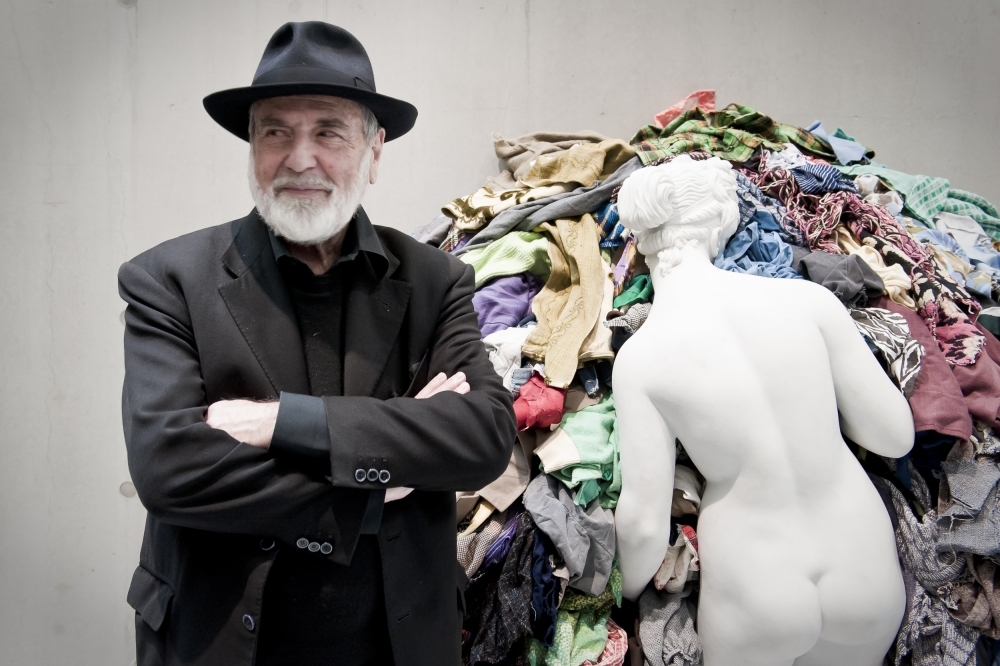Michelangelo Pistoletto awarded 2018 Roswitha Haftmann Prize
