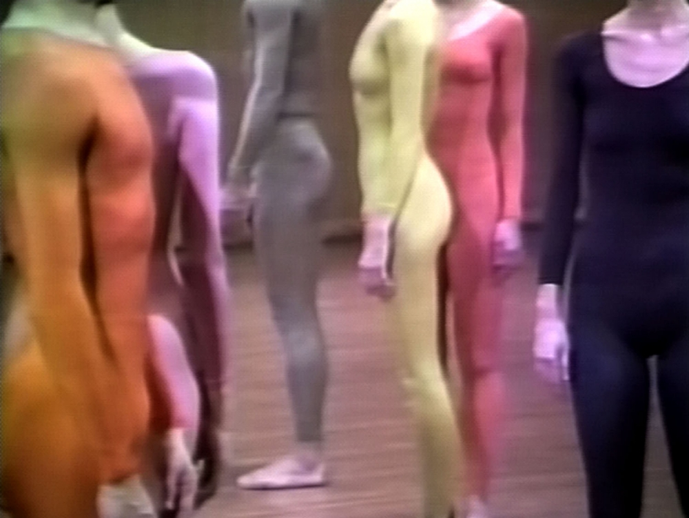 Charles Atlas introduces Merce Cunningham films at the Anthology Film Archives