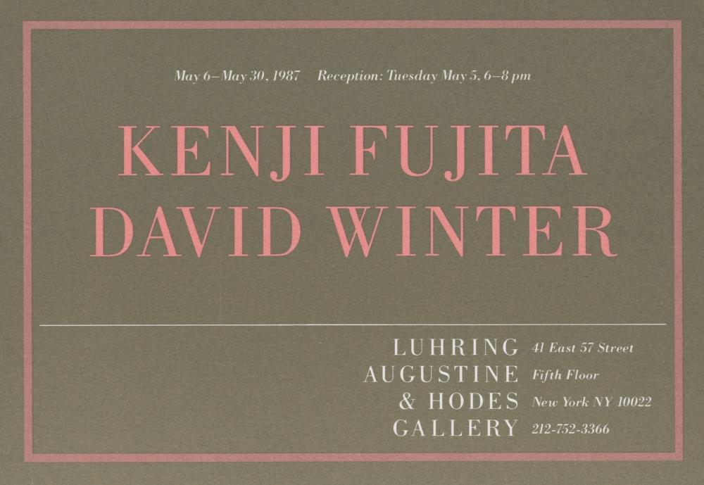 Kenji Fujita, David Winter
