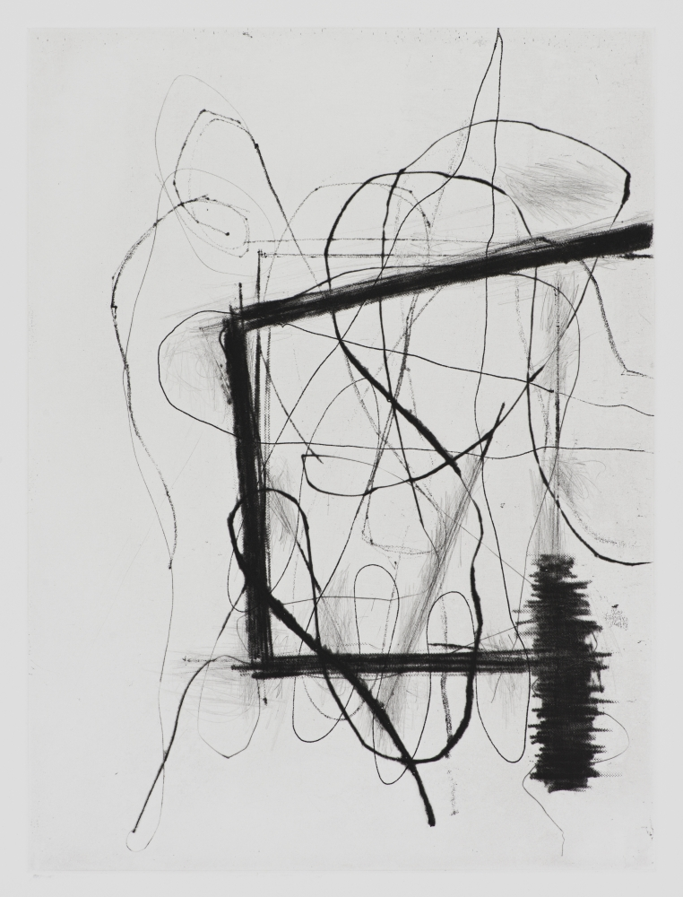 """Christopher Wool in """"First Impressions: Prints from the Anderson Collection"""""""