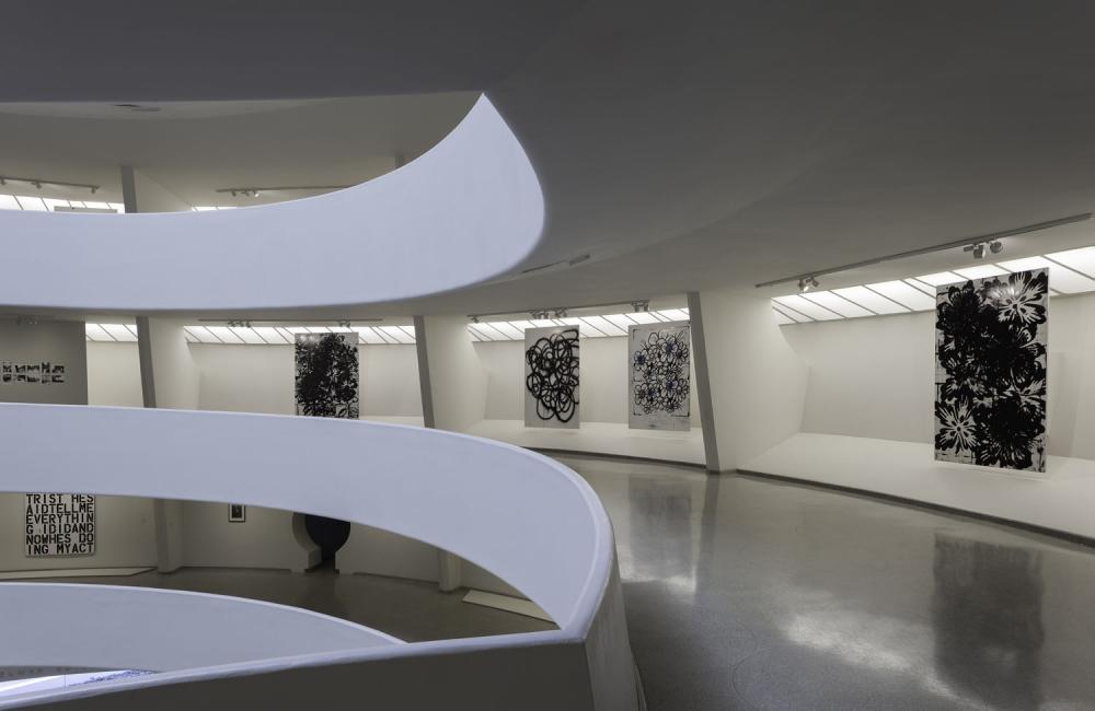 Wool install at Guggenheim Museum