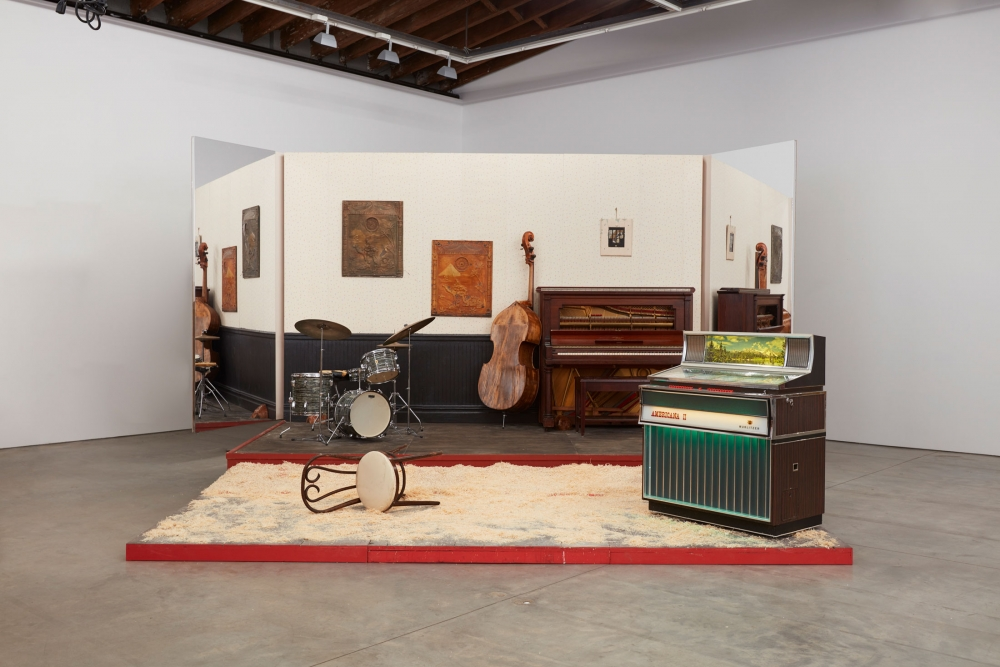 """Jason Moran in """"The Dirty South: Contemporary Art, Material Culture, and the Sonic Impulse"""""""