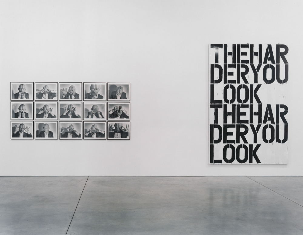 Janine Antoni, Janet Cardiff and George Bures Miller, Larry Clark, Günther Förg, Paul McCarthy, Albert Oehlen, Gerhard Richter, Rachel Whiteread, Christopher Wool