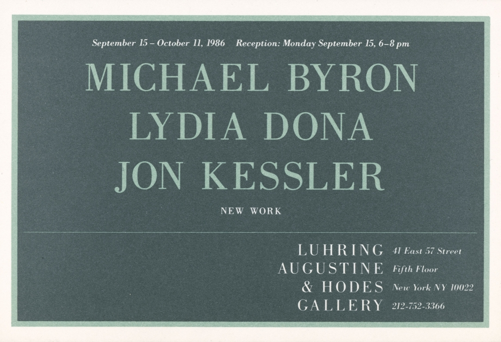Michael Byron, Lydia Dona, Jon Kessler