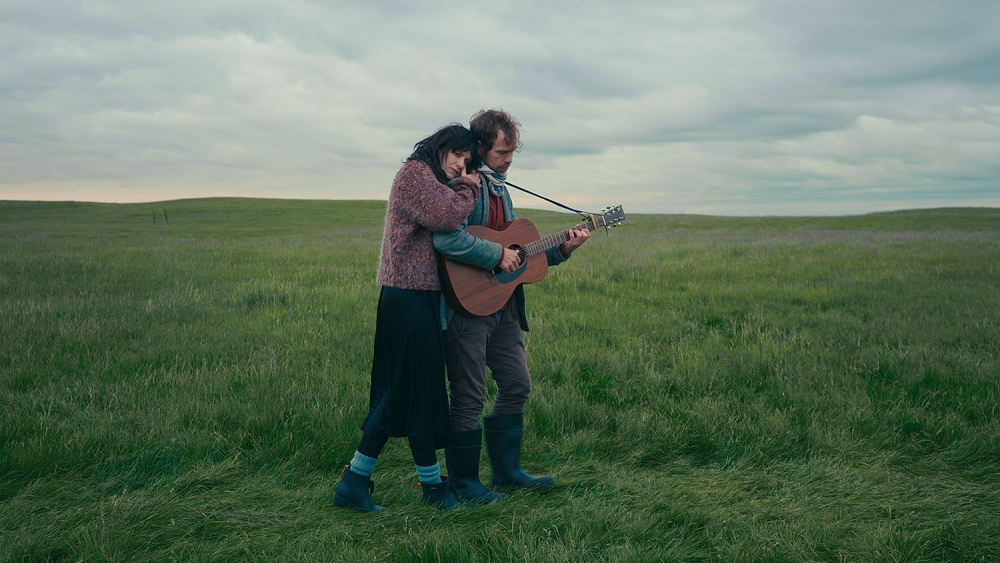 2 people in a field