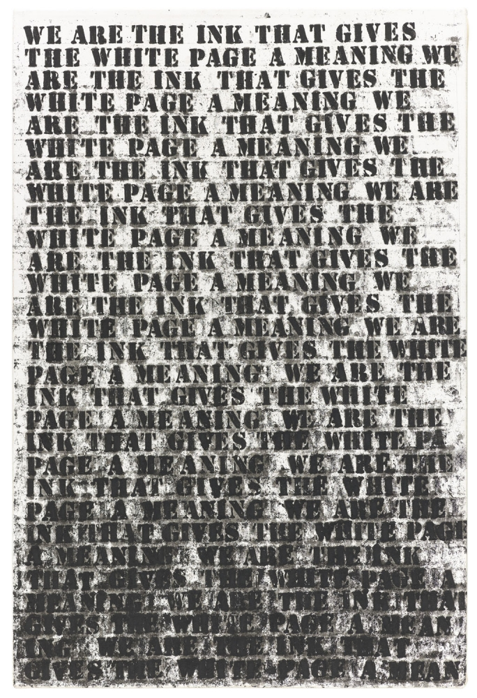 "Glenn Ligon included in ""Prisoner of Love"""