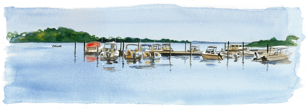 Bob Miller's North Fork Watercolors
