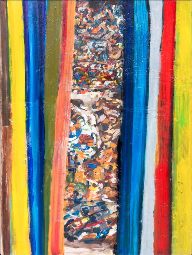 Toronto artist Gina Rorai's Corkin Gallery exhibition shares a new way of seeing
