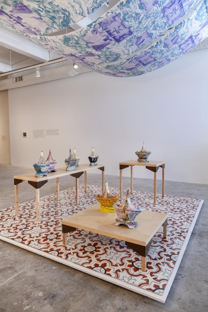 "Jane Irish in ""Hardcover"" Exhibition at Fabric Workshop & Museum"