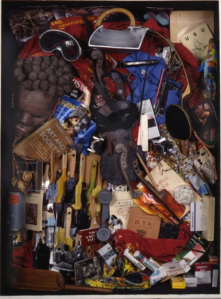 Robot Portrait of Arman (Self Portrait), 1992