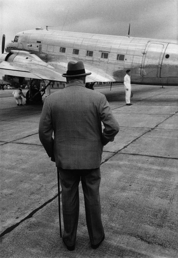 Larry Burrows Winston Churchill, 1954