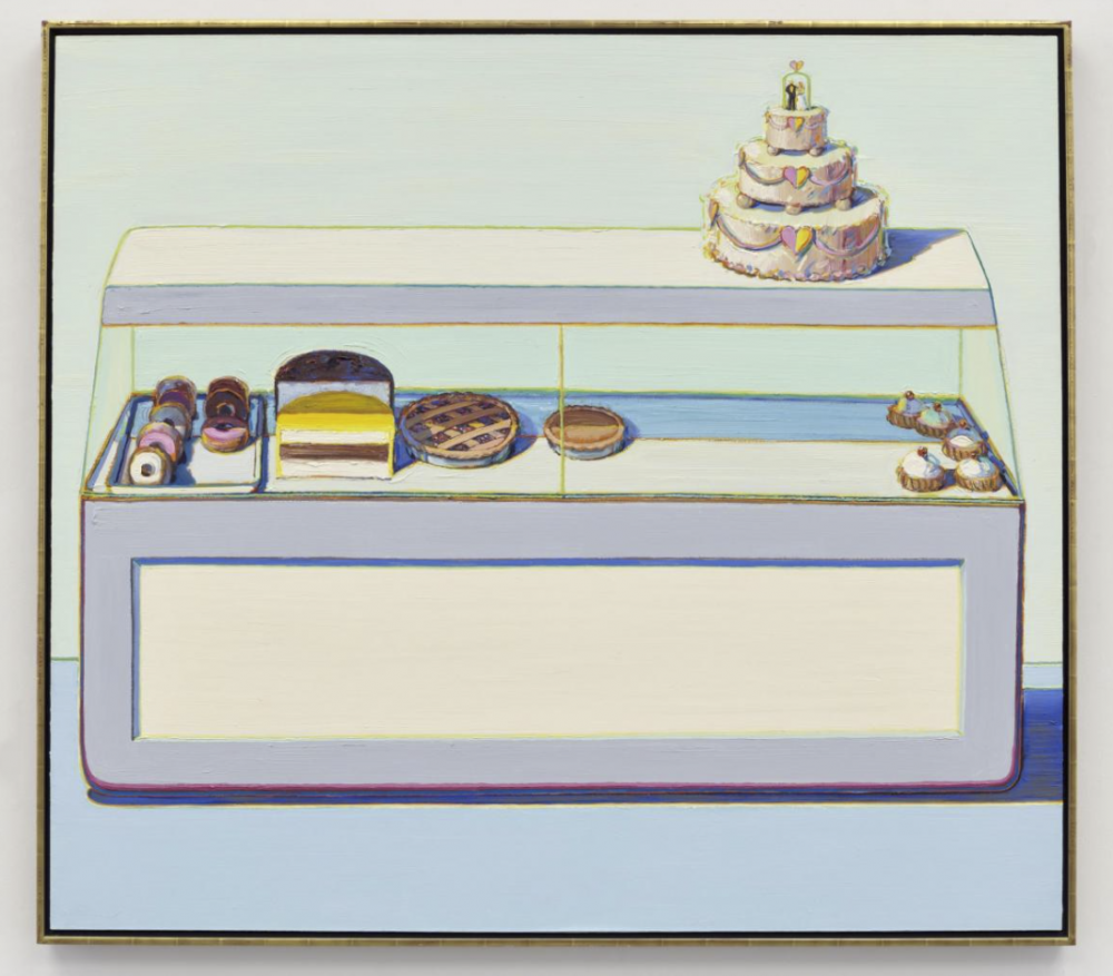Thiebaud, Bakery Case, 1966