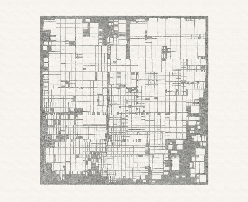 El Hanani, Untitled (Mondrian Series)