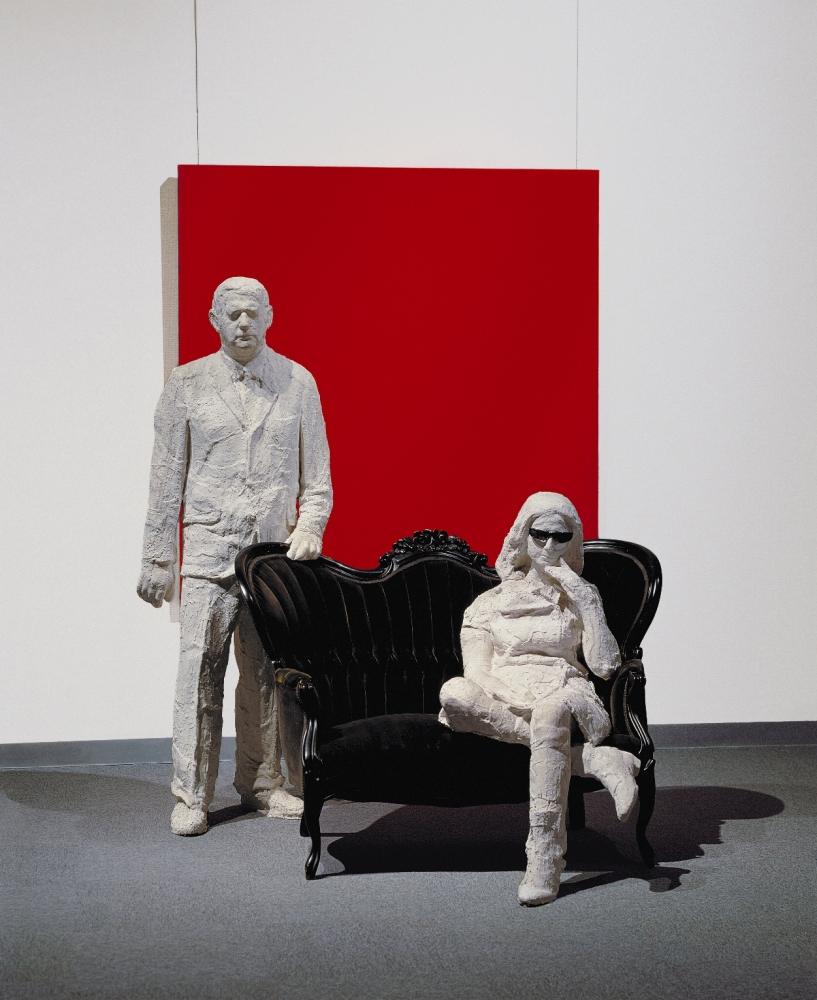 "George Segal's ""Portrait of Robert and Ethel Scull"" (1965)"