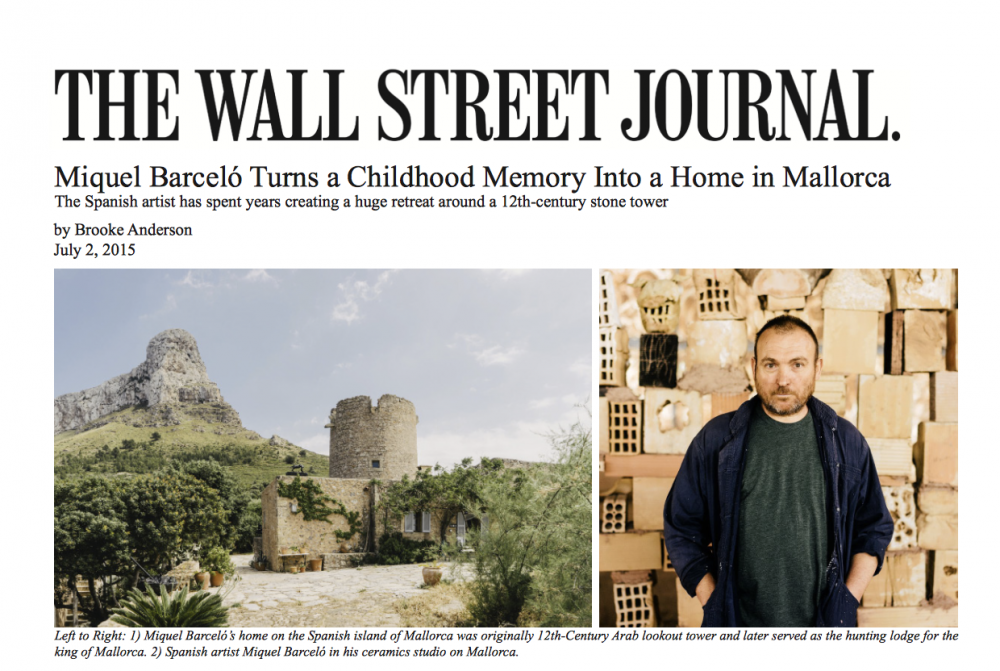 Wall Street Journal Barcelo 2015