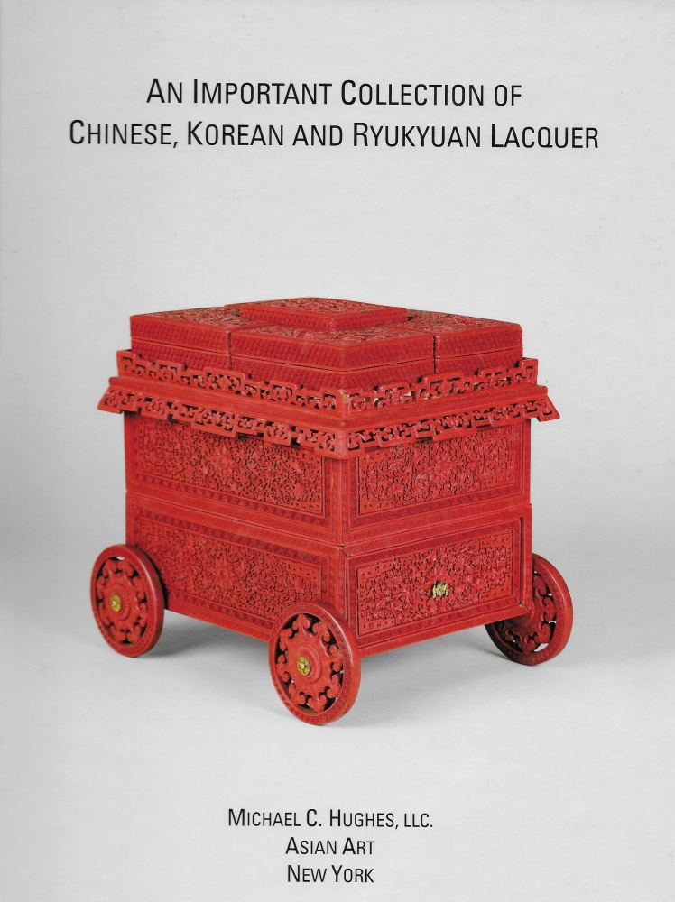 An Important Collection of Chinese, Korean and Ryukyuan Lacquer: Book cover