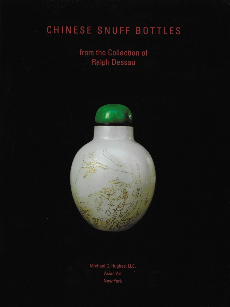 Chinese Snuff Bottles from the Collection of Ralph Dessau: Book cover
