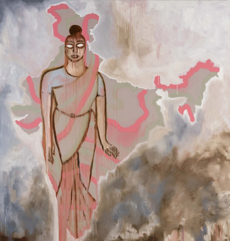 India II by Francesco Clemente, 2019.