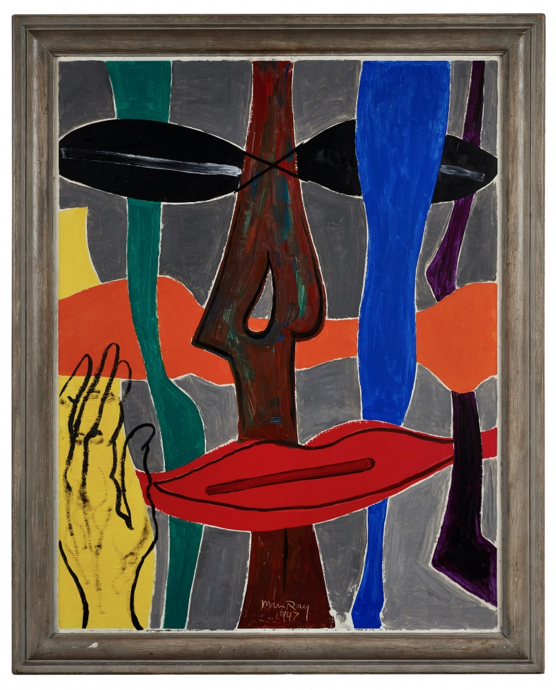 Painting by Man Ray titled Non-Abstraction, 1947