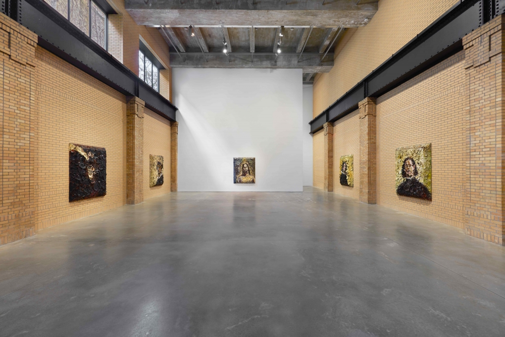 """INSTALLATION VIEW OF """"SELF-PORTRAITS OF OTHERS."""