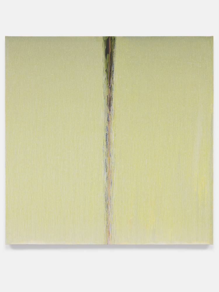 Yellow by Pat Steir