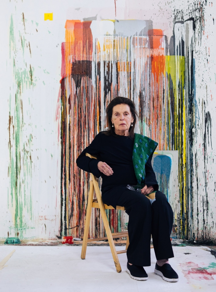 Pat Steir Gets Discovered, Again