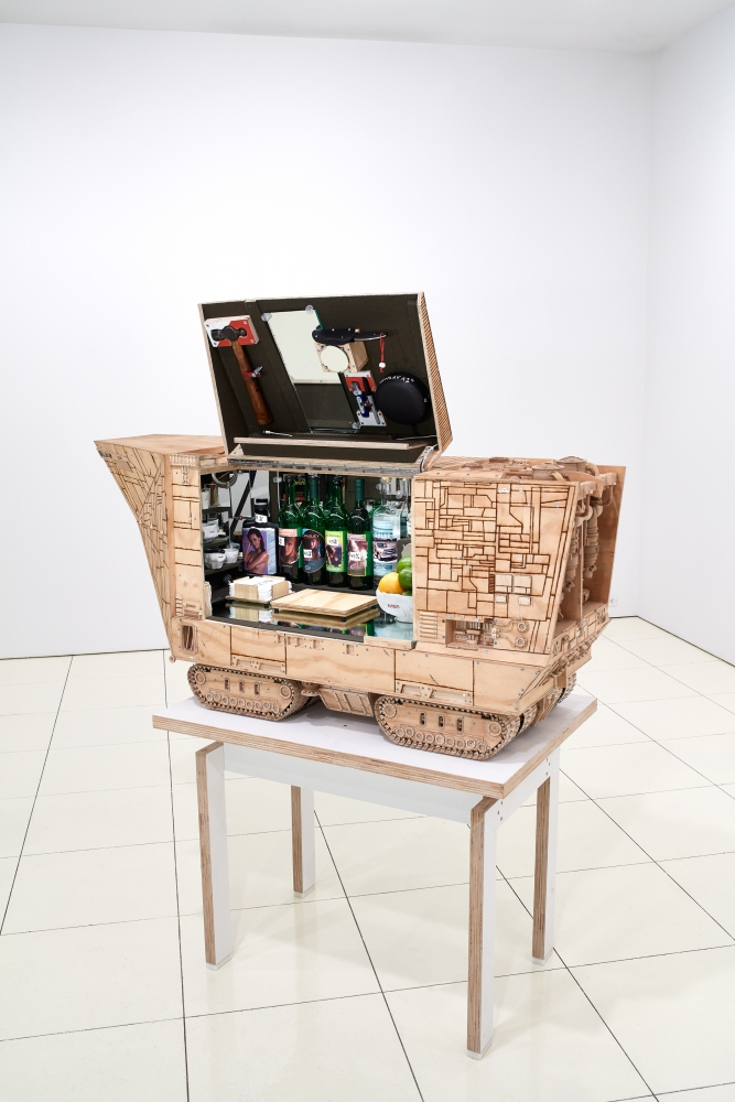 Mezcal in Space: Sculptor Tom Sachs Celebrates 'Star Wars' and Fine Mexican Libations