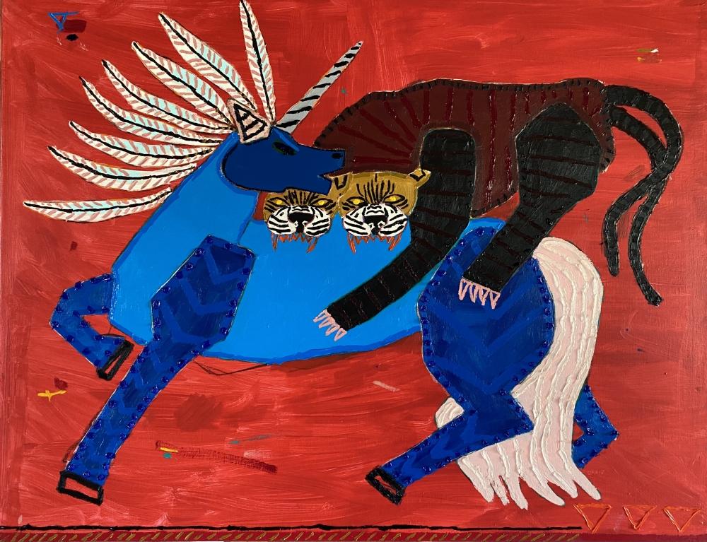 Painting by Jordan Kerwick